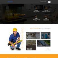 Landing page - Монтаж систем отопления, канализации, водоснабжения